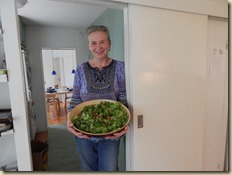 Our dear friend, Aila, who made lunch for 2 days for us all!